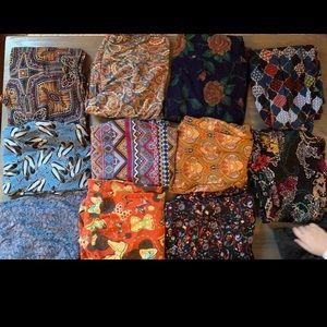 Lularoe leggings and/or tunics bundle